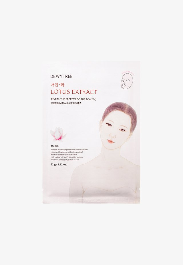 GAINHWA LOTUS MASK - Face mask - -