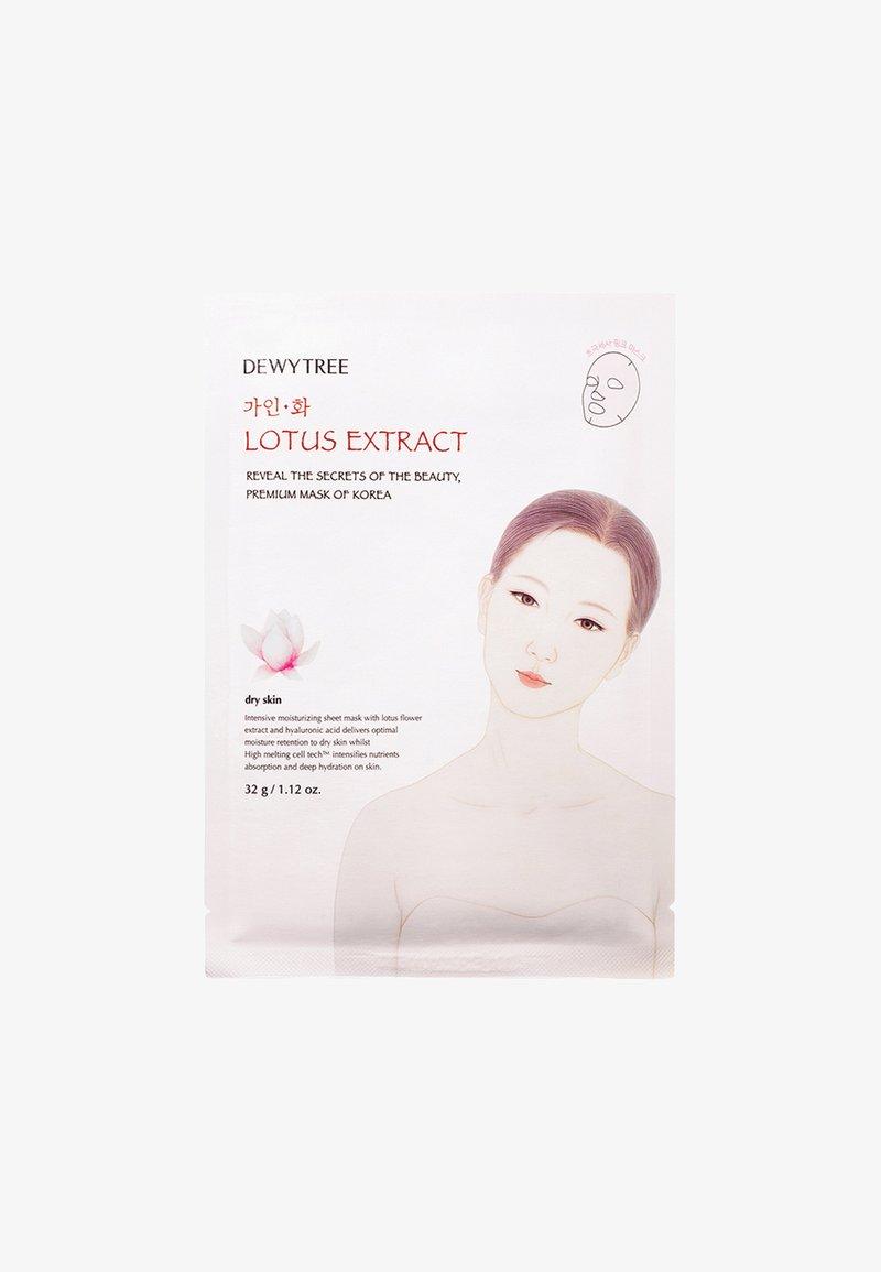 DEWYTREE - GAINHWA LOTUS MASK - Face mask - -