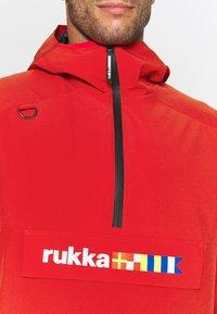 Rukka - VIIRANKARI - Veste coupe-vent - red - 3