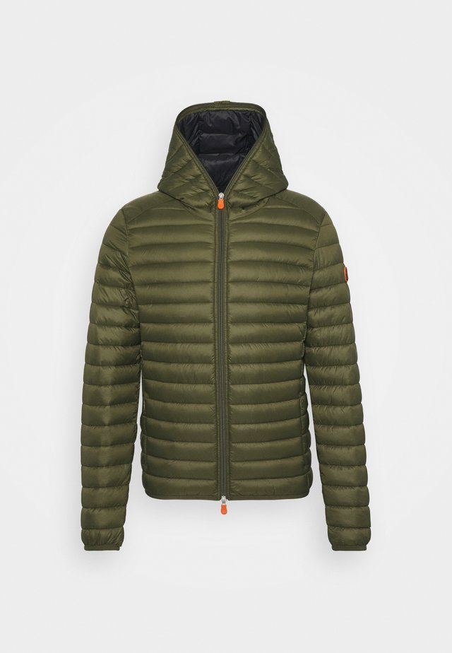 DONALD HOODED JACKET - Light jacket - dusty olive