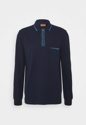 LONG SLEEVE - Pikeepaita - blue navy