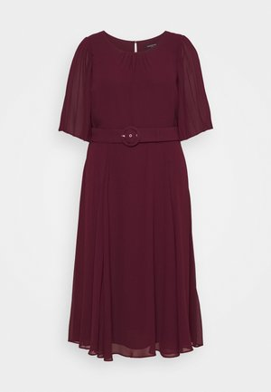 SALLY PLEAT SLEEVE MIDI DRESS - Day dress - enchanted
