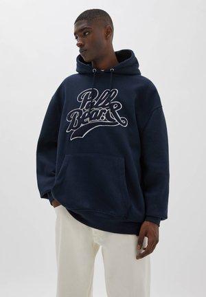 Hoodie - dark blue