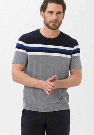 STYLE TERRY - Print T-shirt - marine