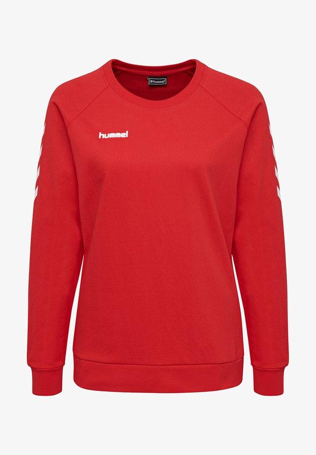 Sweater - true red