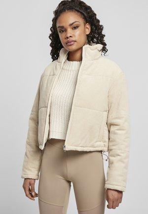 Winter jacket - whitesand