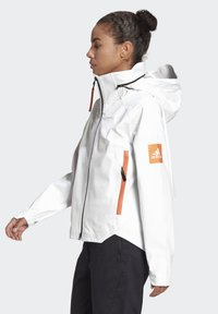 adidas Performance - MYSHELTER URBAN RAIN.RDY OUTDOOR - Waterproof jacket - white - 3