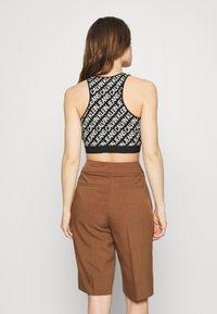 Calvin Klein Jeans - MILANO LOGO - Top - black - 2