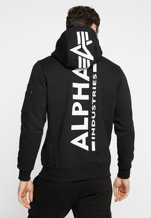 BACK PRINT HOODY - Sweat à capuche - black