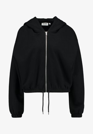 MIMI ZIP HODDIE - Collegetakki - black