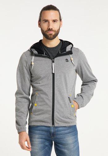 Outdoor jacket - grau melange