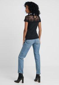 Morgan - DRAGA - Print T-shirt - noir - 2