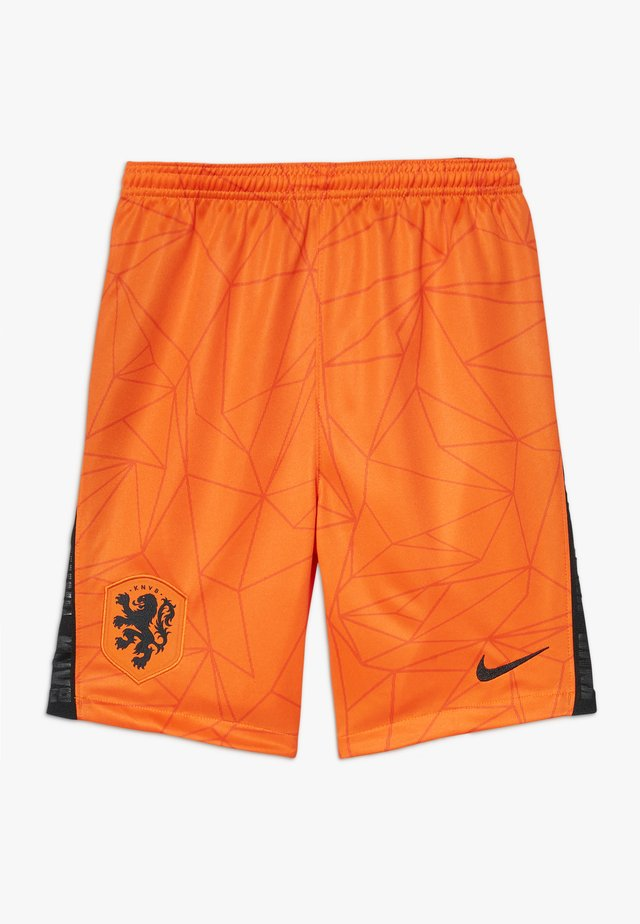 NIEDERLANDE KNVB Y NK BRT STAD HM - Korte broeken - safety orange/black