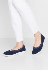 Cloudsteppers by Clarks - AYLA  - Ballet pumps - navy - 0