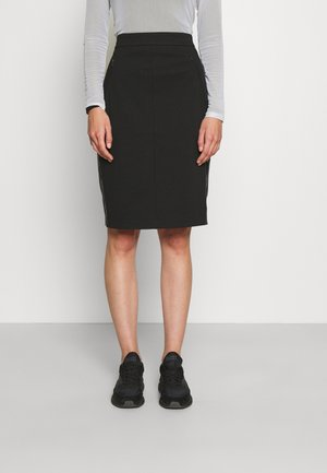 RECYCLED MILANO PENCIL SKIRT - Pencil skirt - black
