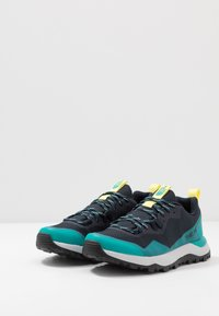 The North Face - W ACTIVIST FUTURELIGHT - Hiking shoes - urban navy/micro chip grey - 2