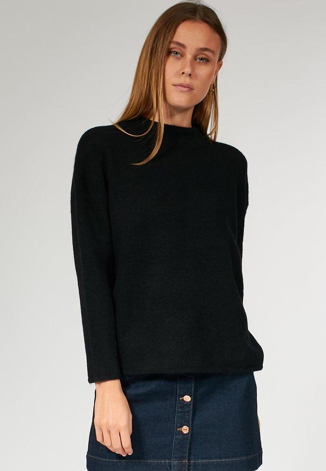 BOXY - Pullover - black
