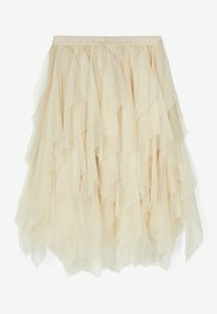 Name it - A-line skirt - brown rice - 1