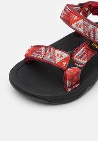 Teva - HURRICANE XLT 2 KIDS UNISEX - Walking sandals - chilli pepper - 5