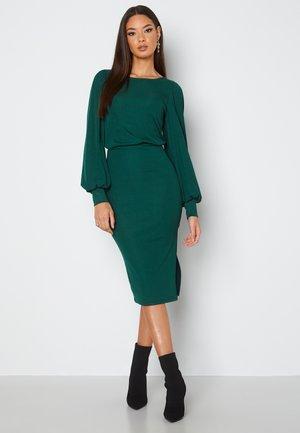 Etui-jurk - dark green