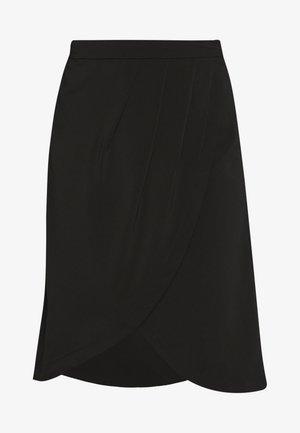 VINAHLA SKIRT - A-linjekjol - black