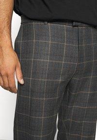 River Island - Suit trousers - grey dark - 3