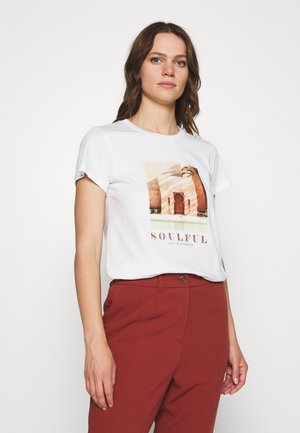 KAGARNA - T-shirts med print - chalk