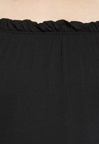 Dorothy Perkins Petite - THREE QUARTER SLEEVE BARDOT 2 PACK - Long sleeved top - black - 10