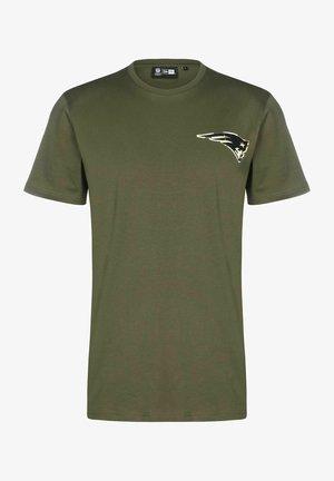 NEW ENGLAND PATRIOTS - Print T-shirt - khaki