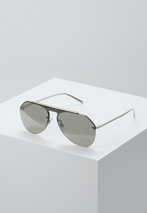 Sunglasses - pale gold/light brown mirror gold