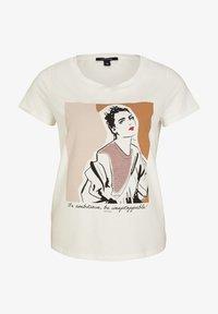 comma - Print T-shirt - white placed print - 5