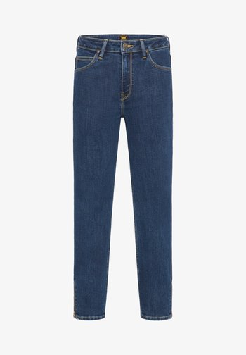 SCARLETT HIGH ZIP - Jeans Skinny Fit - stone travis