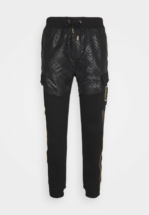 JAREN - Tracksuit bottoms - black
