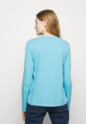 Long sleeved top - sailing turquise