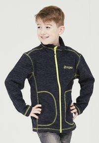 ZIGZAG - TAEBAEK KIDS ACTIV - Fleece jacket - 2048 navy blazer - 0