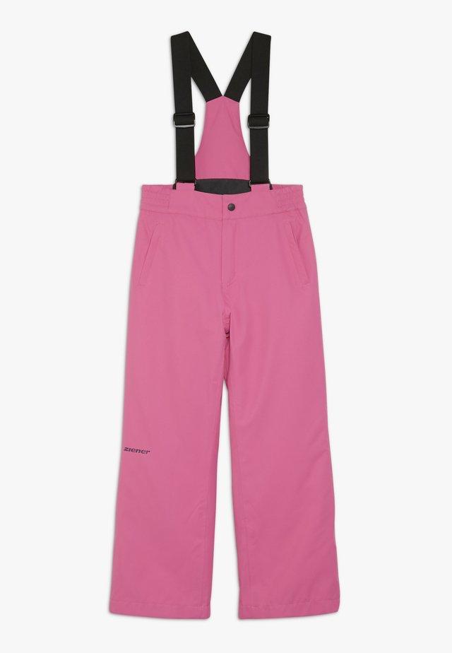 ALENKO JUNIOR - Spodnie narciarskie - pink dahlia