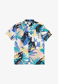Quiksilver - TROPICAL - Shirt - snow white tropical flo - 5