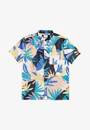 TROPICAL - Shirt - snow white tropical flo