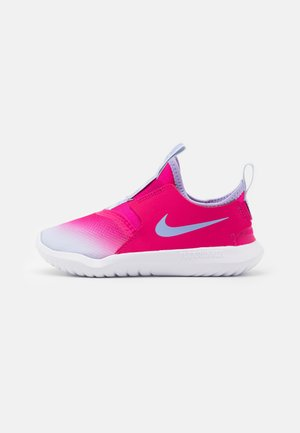 FLEX RUNNER UNISEX - Neutral running shoes - fireberry/purple pulse/football grey/white