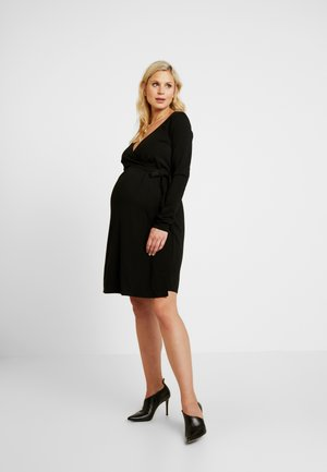 THEA - Jersey dress - black