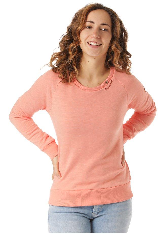 RAGWEAR SWEATSHIRT JOHANKA - Sweatshirt - orange