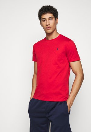 T-shirt - bas - evening post red