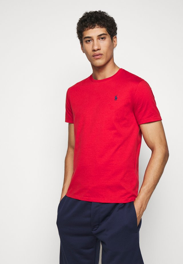 Basic T-shirt - evening post red