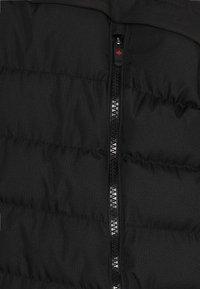Alessandro Zavetti - SIVELILI HYBRID WINDRUNNER - Lehká bunda - black - 5
