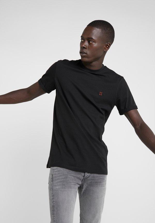 Les Deux NØRREGAARD - T-shirt basic - black/czarny Odzież Męska QIZO