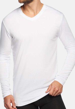 2 PACK - Långärmad tröja - white