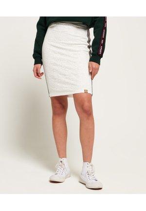 Pencil skirt - ecru