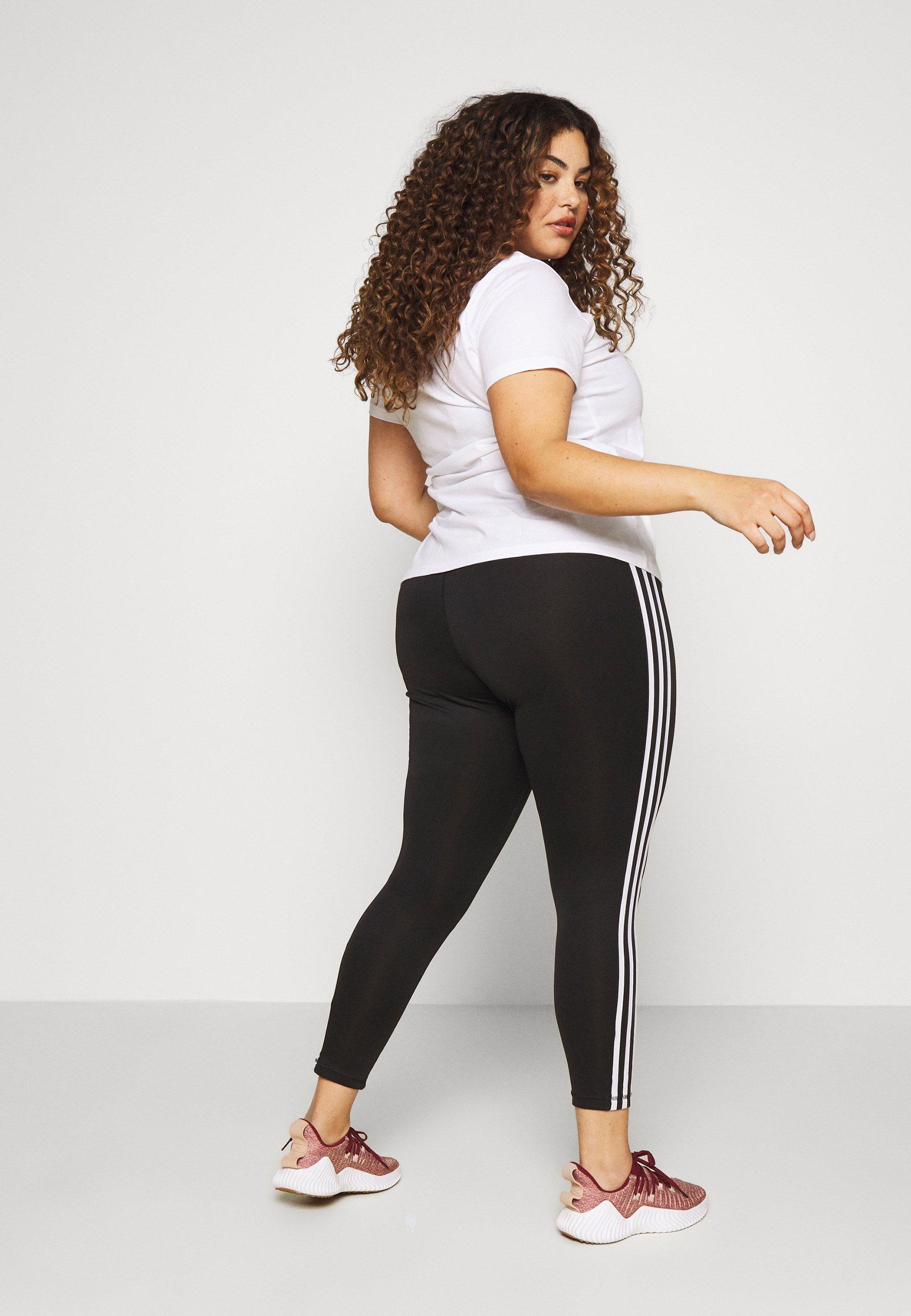 adidas Performance Leggings - black/white 3W7yO