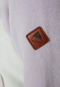 Burton - WOMEN'S HEARTH - Fleece jumper - lilac/aqua - 6