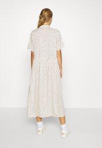 Monki - MATTAN DRESS - Skjortekjole - white - 2